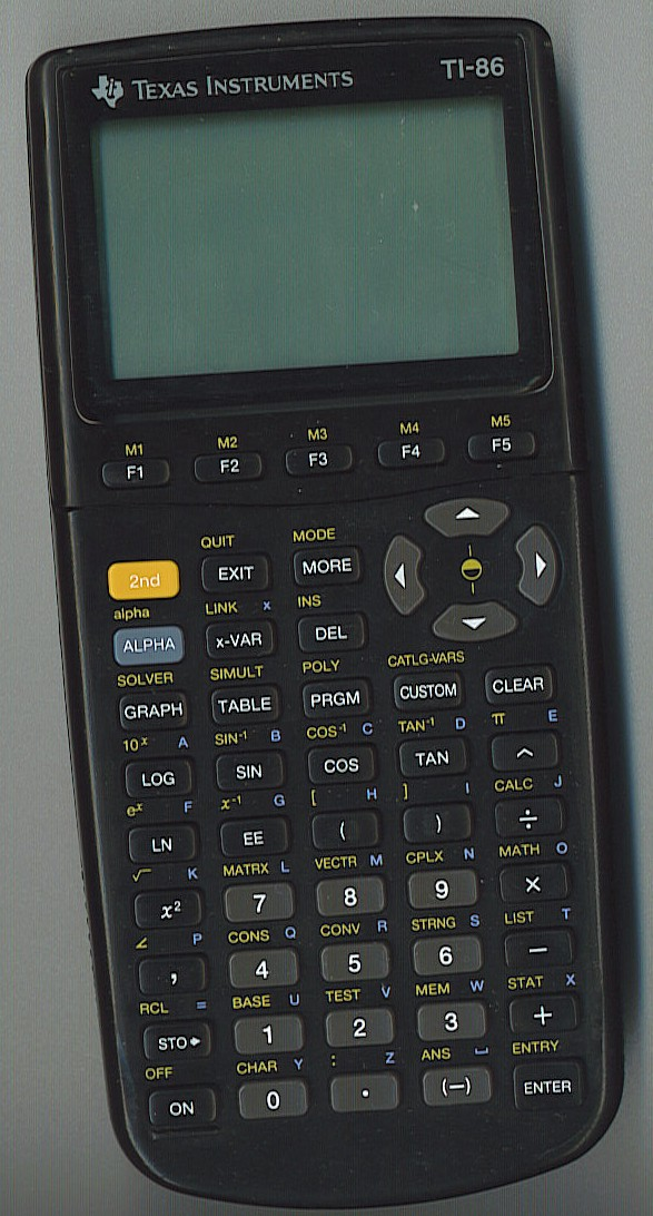 ti 85 and ti 86 scientific calculators rh bbruner org ti 84 calculator manual degrees ti 85 graphing calculator instruction manual